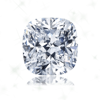 a cushion cut diamond