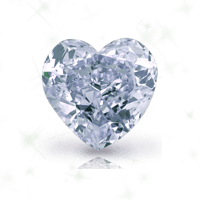 a heart cut diamond
