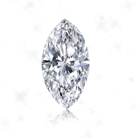 a marquise cut diamond