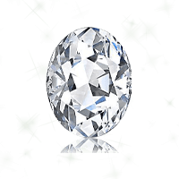 a oval cut diamond