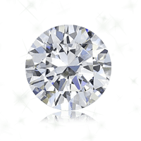 a round cut diamond